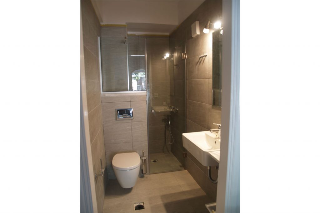Ioanna Zavitsanou Hotel Nefeli Bathroom Renovation - Order of bathroom renovation